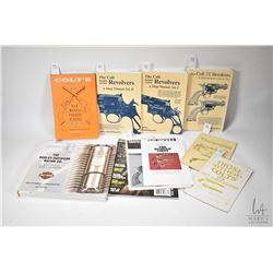 Four Colt Revolver shop manuals including The Colt Double Action Revolvers: A shop manual, Vol. I an