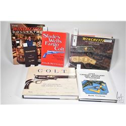 Three hardcover Colt gun books including Colt: The Revolver of the American West by Jeffrey Richards