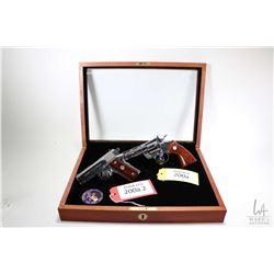 Prohib 12-6 handguns Colt model Double diamond set, .357 Mag & .45 ACP six shot & seven shot double