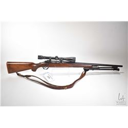 "Non-Restricted rifle Ruger model M77, 22-250 cal bolt action, w/ bbl length 24"" [Blued barrel and re"