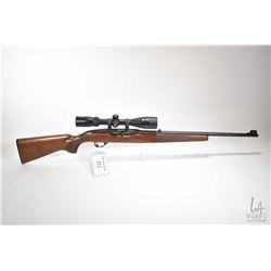 "Non-Restricted rifle Winchester model 490, 22LR five shot semi automatic, w/ bbl length 21 1/2"" [Blu"