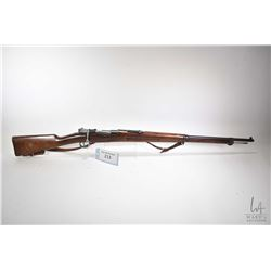 "Non-Restricted rifle WaffenFabrik model Mauser 1900, 6.5x55mm bolt action, w/ bbl length 29"" [Blued"