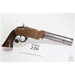 Antique handgun Volcanic Repeating Arms model Volcanic pistol, .41 Volcanic eight shot lever action,