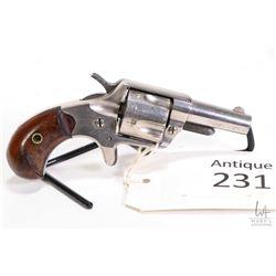 Antique handgun Colt model New line, .41 Rimfire five shot single action revolver, w/ bbl length 57m