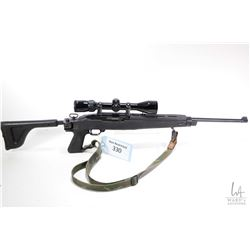 "Non-Restricted rifle Ruger model 10/22 Carbine, 22LR No Mag semi automatic, w/ bbl length 18 1/2"" [B"