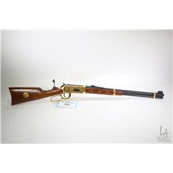Non-Restricted rifle Winchester model 94 Cheynne Commemorative, 44-40 Win. lever action, w/ bbl leng