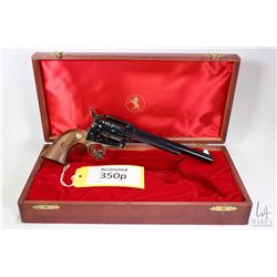 Restricted handgun Colt model 1873 SAA Colt 125th Anniv, .45 Colt six shot single action revolver, w
