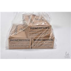Two full 50 count boxes plus one 42 count box of Winchester 44-40 Win, 225 grain Cowboy action loads