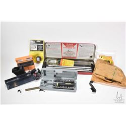 Selection of speed loaders including HKS .38 Spec./.357 mag. Butler creek plastic magazine. Gun Slic