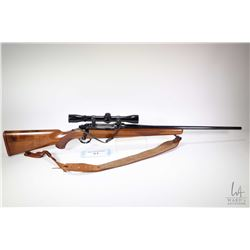 "Non-Restricted rifle Ruger model M77, .270 Win bolt action, w/ bbl length 22"" [Tapered blue barrel a"
