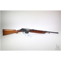 Non-Restricted rifle Winchester model 1907 (Dated 1909), .351 cal. five shot semi automatic, w/ bbl