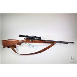 "Non-Restricted rifle Cooey model 600, 22 S-L-LR bolt action, w/ bbl length 22"" [Blued barrel and rec"