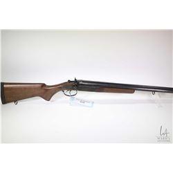 "Non-Restricted shotgun Norinco model JW2000, 12 ga. 3"" two shot hinge break, w/ bbl length 20"" [Blue"