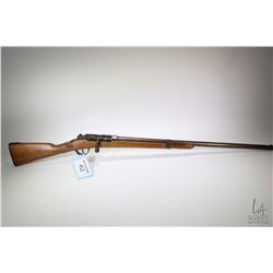 Non-Restricted shotgun Unknown model Bolt Action Shotgun, 12 Ga single shot bolt action, w/ bbl leng