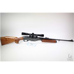 "Non-Restricted rifle Remington model Gamemaster 760, 270 Win. pump action, w/ bbl length 22"" [Blued"