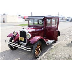 1926 Chevrolet Superior Series K, serial no. 425884. Nicely running and operating car, most recently