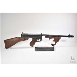 Prohib 12-2 rifle Thompson model 1928 A1, .45ACP 5 Shot full Automatic, w/ bbl length 267mm [Blued b