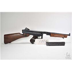 Prohib 12-2 rifle Thompson model M1A1, .45ACP 5 Shot full automatic, w/ bbl length 267mm [Blued barr