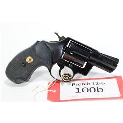 Prohib 12-6 handgun Colt model Detective Special, .38 SPL six shot double action revolver, w/ bbl le