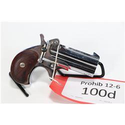 Prohib 12-6 handgun Hawes model Western Derringer, .357 Mag two shot single action, w/ bbl length 76