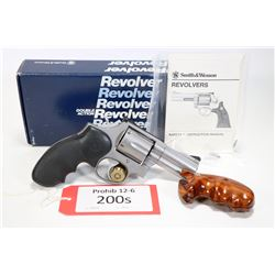 Prohib 12-6 handgun Smith & Wesson model 686, .357 Mag six shot double action revolver, w/ bbl lengt