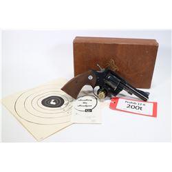 Prohib 12-6 handgun Colt model 357 (1954), .357 Mag six shot double action revolver, w/ bbl length 1