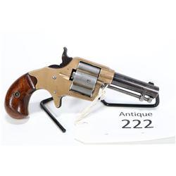 Antique handgun Colt model Cloverleaf House Model, . 41 RF four shot single action, w/ bbl length 75