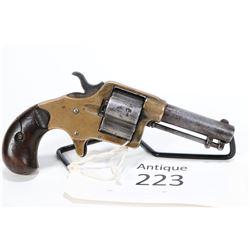 Antique handgun Colt model Cloverleaf House Model, .41 RF four shot single action, w/ bbl length 75m