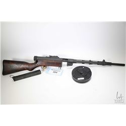 Non-Restricted rifle TNW Inc. model M 31 Suomi, .9mm luger five shot semi automatic, w/ bbl length 1