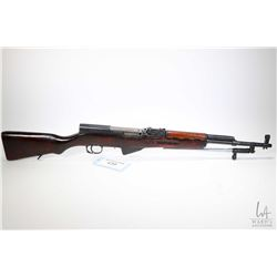 Non-Restricted rifle Chinese model SKS, 7.62 X 39mm five shot semi automatic, w/ bbl length 18 1/2""