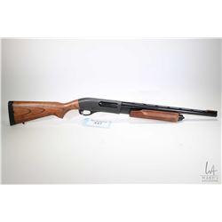 "Non-Restricted shotgun Remington model 870 Super Mag, .12 ga 2/34"" pump action, w/ bbl length 19 1/2"