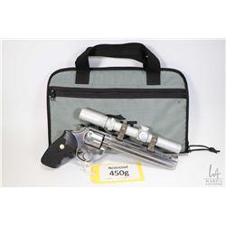 Restricted handgun Colt model WhiteTailer II, .357 Mag six shot double action revolver, w/ bbl lengt