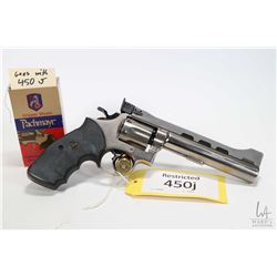 Restricted handgun Smith & Wesson model 15-3 Power Custom, .38 SPL six shot double action revolver,
