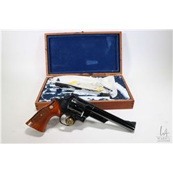 Restricted handgun Smith & Wesson model 29-2, .44 mag six shot double action revolver, w/ bbl length