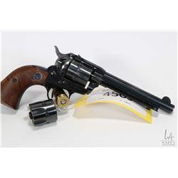 Restricted handgun Ruger model Single Six, .22 LR/22 Mag six shot single action revolver, w/ bbl len