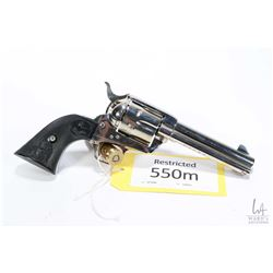 Restricted handgun Colt model 1873, .44-40 Win six shot single action revolver, w/ bbl length 121mm