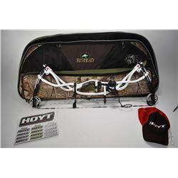 Hoyt Matrix Carbon RKT compound bow, WT 50-60, LEN 28, STR 55-25, VC 35.00/39.25, S No. 853029, 8449