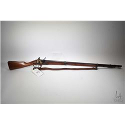 "Antique rifle French Service model MLE 1777, .69 cal single shot flintlock, w/ bbl length 37 1/2"" [B"