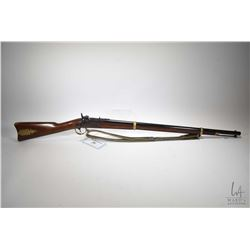 "Non-Restricted rifle Ranson model 1863, .58 Percussion single Muzzle loader, w/ bbl length 32"" [Blue"