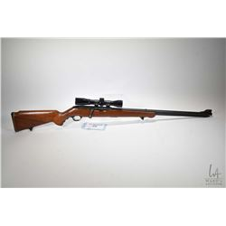 "Non-Restricted rifle Mossberg & Sons model 346 B, .22 S, L, LR bolt action, w/ bbl length 24"" [Blued"