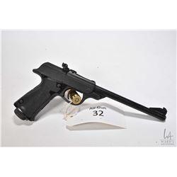 handgun Walther model LP 53, .4.5mm .177 single shot hinge break, w/ bbl length 240mm [Satin blued s
