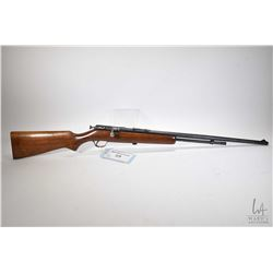 "Non-Restricted rifle Cooey model 60, .22 LR bolt action, w/ bbl length 24"" [Blued barrel and receive"
