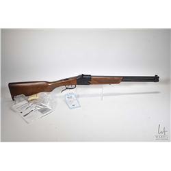 "Non-Restricted shotgun/ rifle Chiappo Firearms model Double badger, .22 LR & 20 gauge 3"" two shot hi"