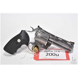 Prohib 12-6 handgun Colt model Anaconda, .44 mag six shot double action revolver, w/ bbl length 102m