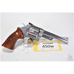 Restricted Smith & Wesson model 629, .44 Mag six shot double action revolver, w/ bbl length 152mm [S