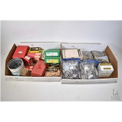 Selection of loading equipment including RCBS .22/250 die set, RCBS .38 Spl. die set, a Lee .30-06 d