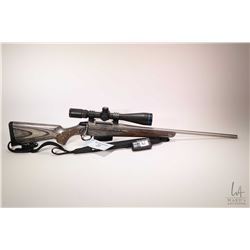 "Non-Restricted rifle Tikka model T3, .270 Win bolt action, w/ bbl length 22"" [Satin stainless barrel"