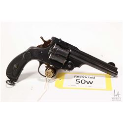 Restricted handgun T.A.C model 1914, .455 Rev six shot double action revolver, w/ bbl length 132mm [