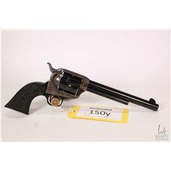 Restricted handgun Colt model 1873 SAA, .38 Spcl six shot single action, w/ bbl length 191mm [Blued