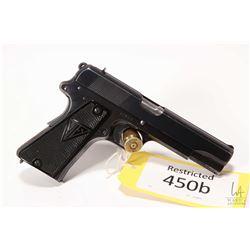 Restricted handgun F.B Radom model VIS 35, 9 mm eight shot semi automatic, w/ bbl length 114mm [Blue